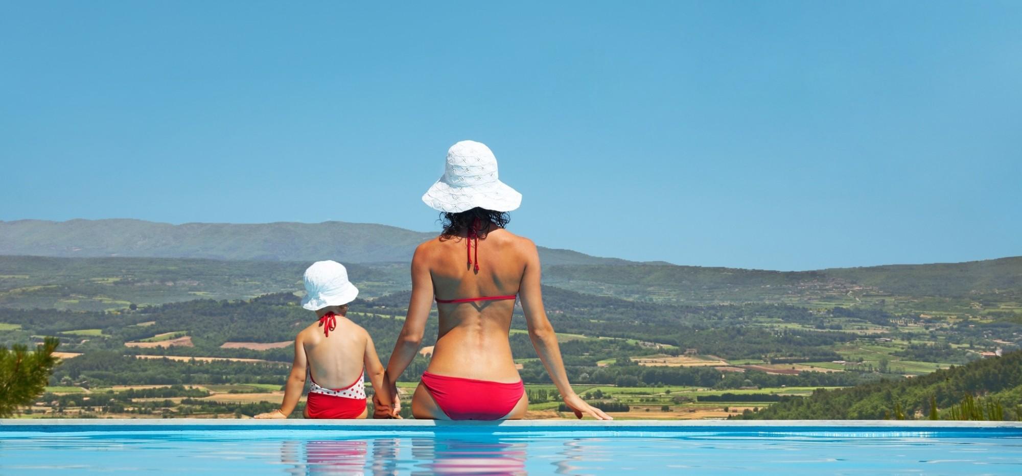 belles propriétés et maisons de Provence avec vue sur le Luberon