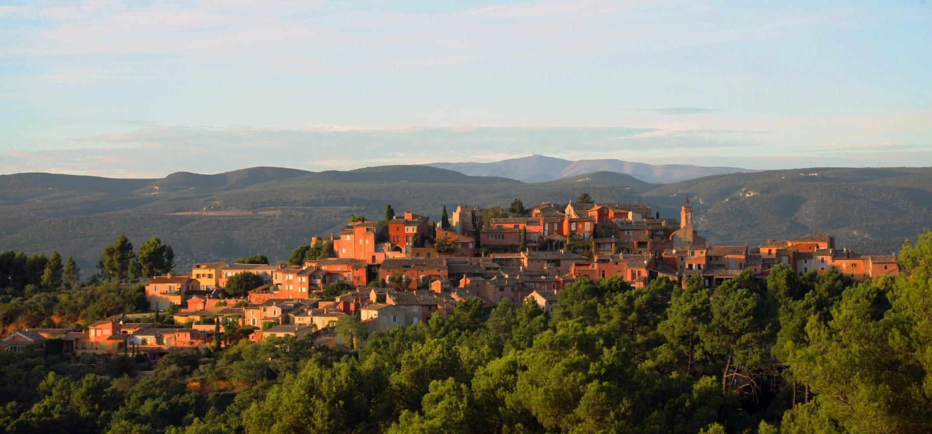 Roussillon en Provence - Ocres et lumières du sud