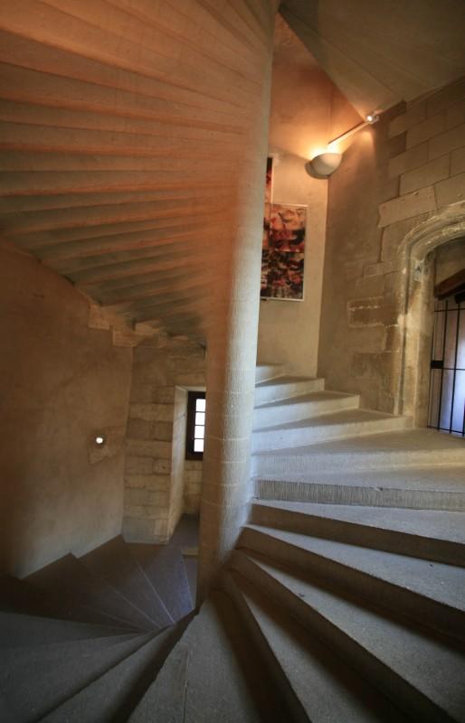 L'intérieur du château de Gordes en Luberon