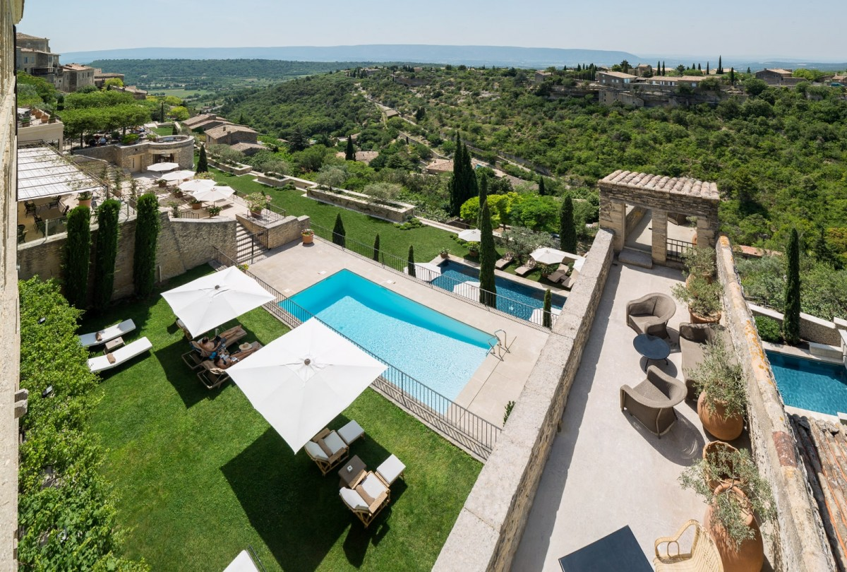 La Bastide De Gordes Luxury Hotel In