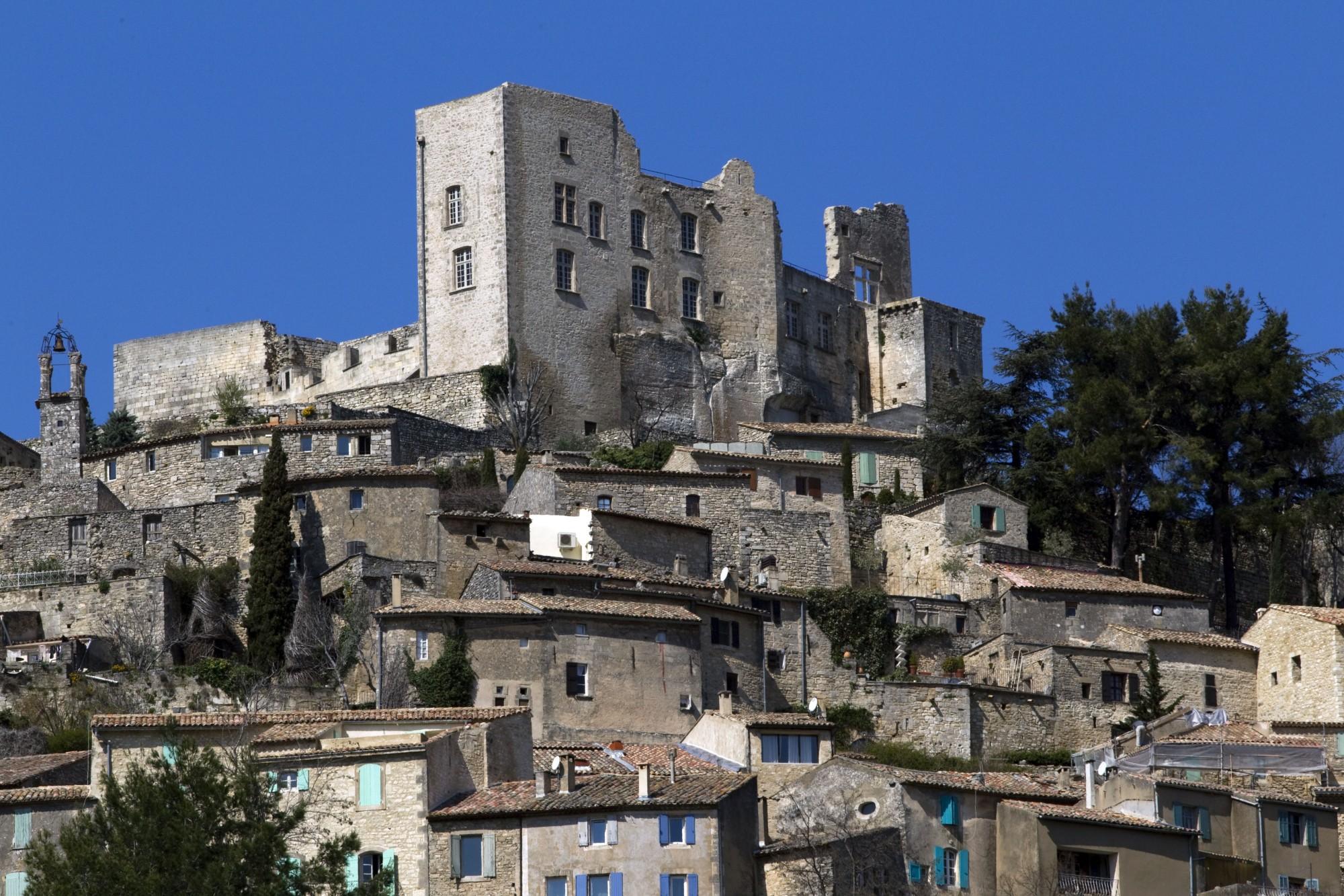 Le chateau de Lacoste en Luberon