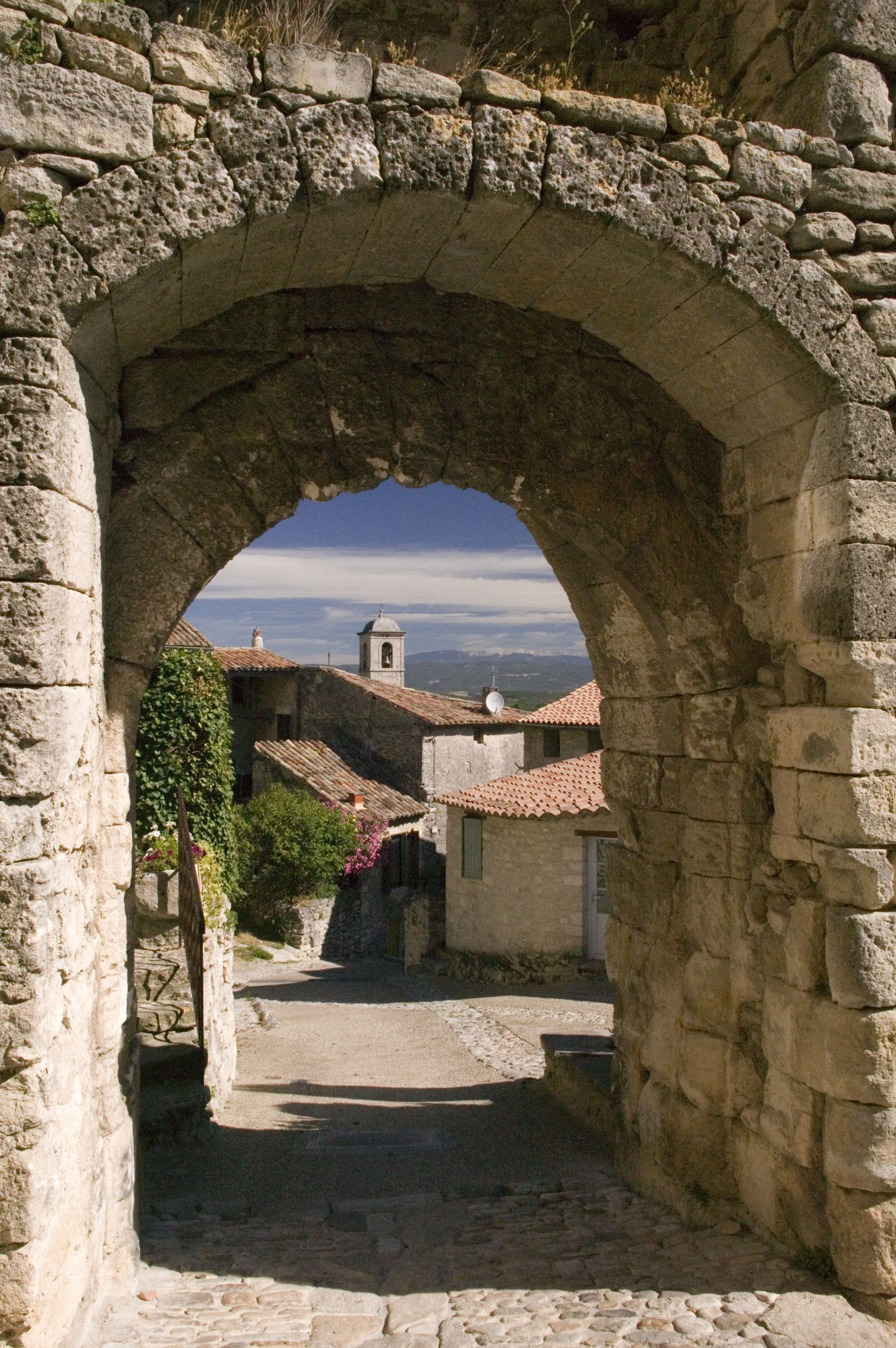 Le village de Lacoste en Luberon