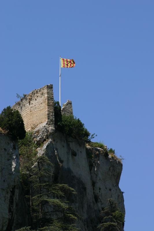 Le chateau de Pétrarque