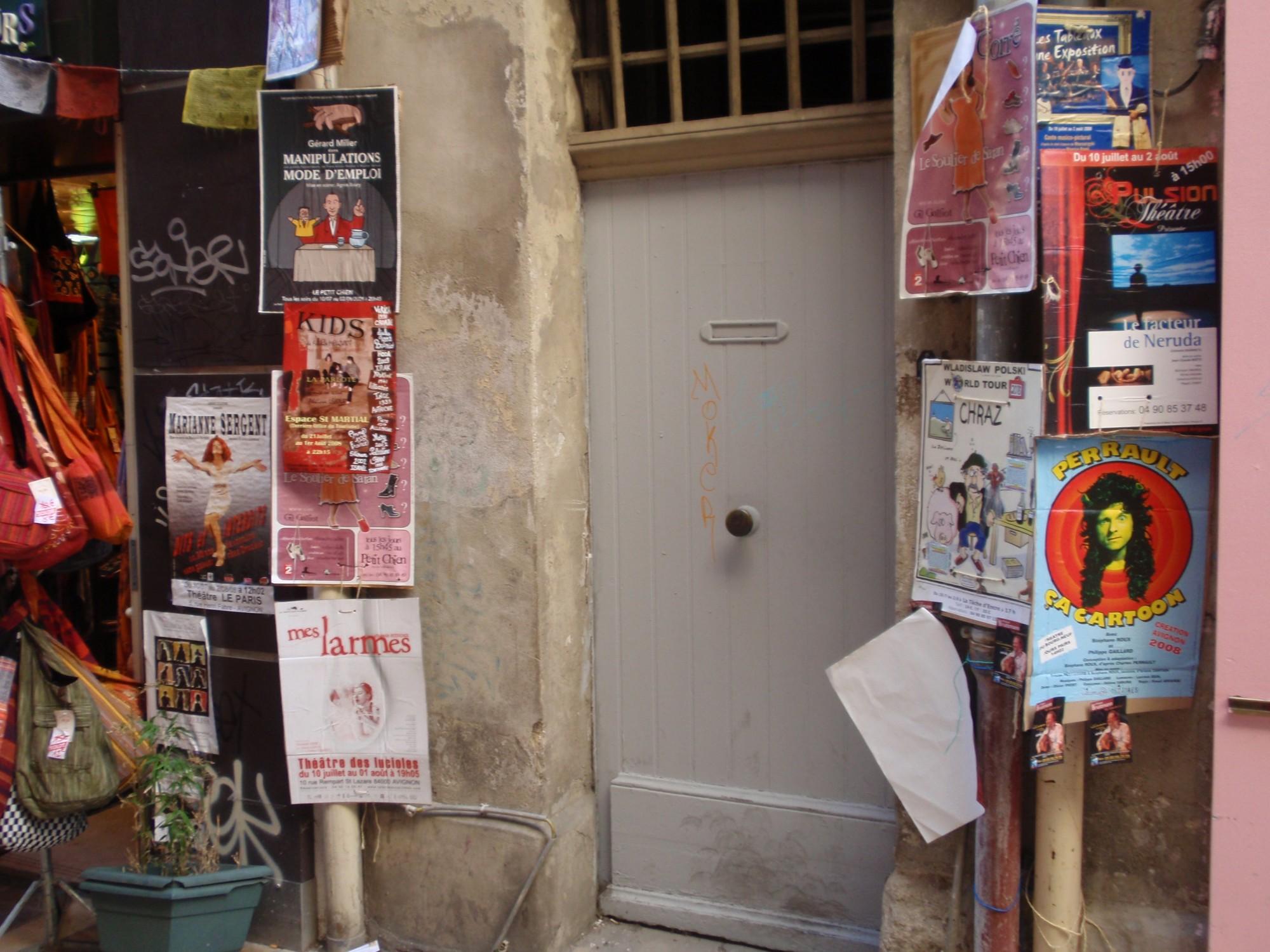 Les affiches du festival d'Avignon