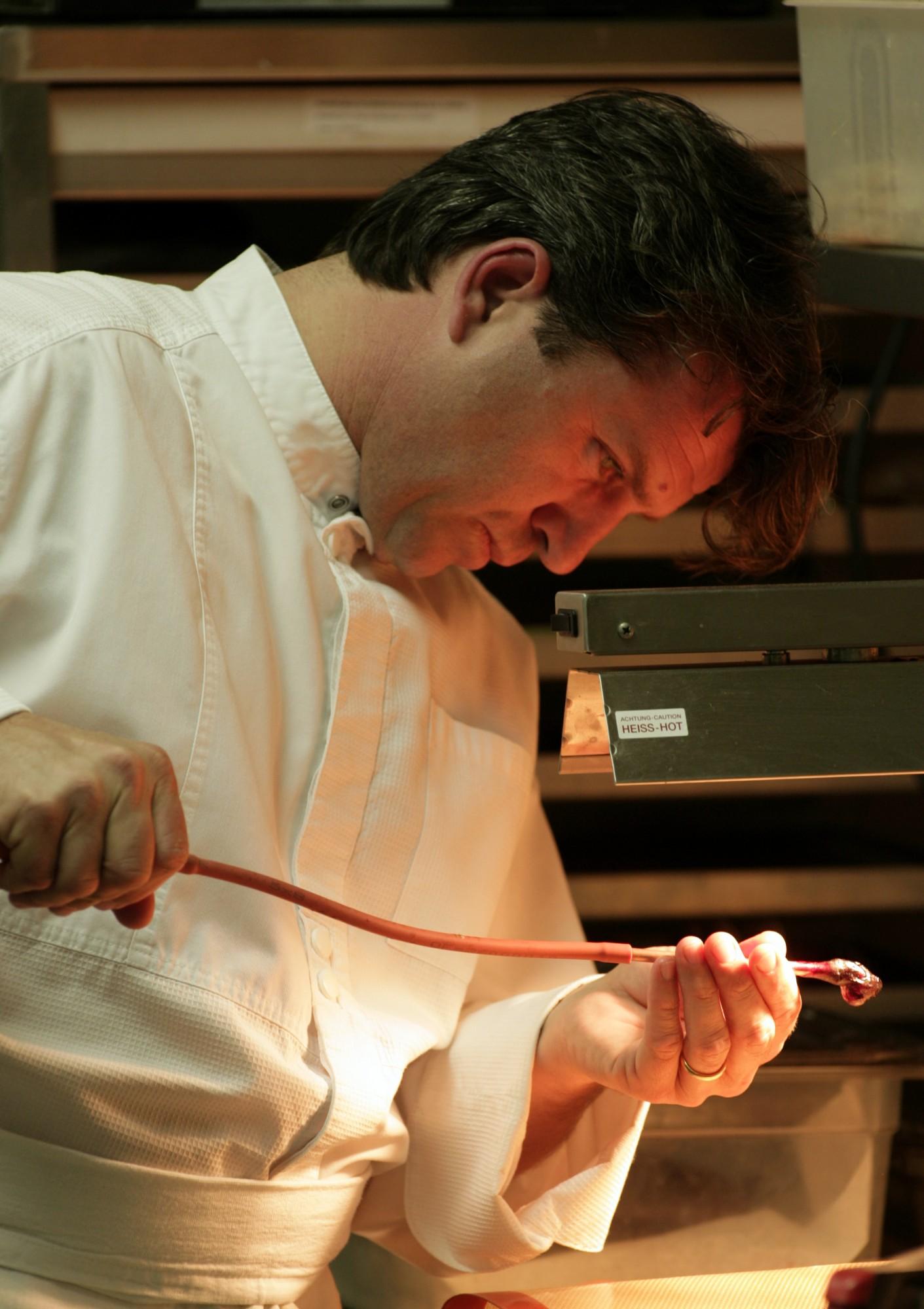 Edouard Loubet chef de cuisine étoilé - truffe