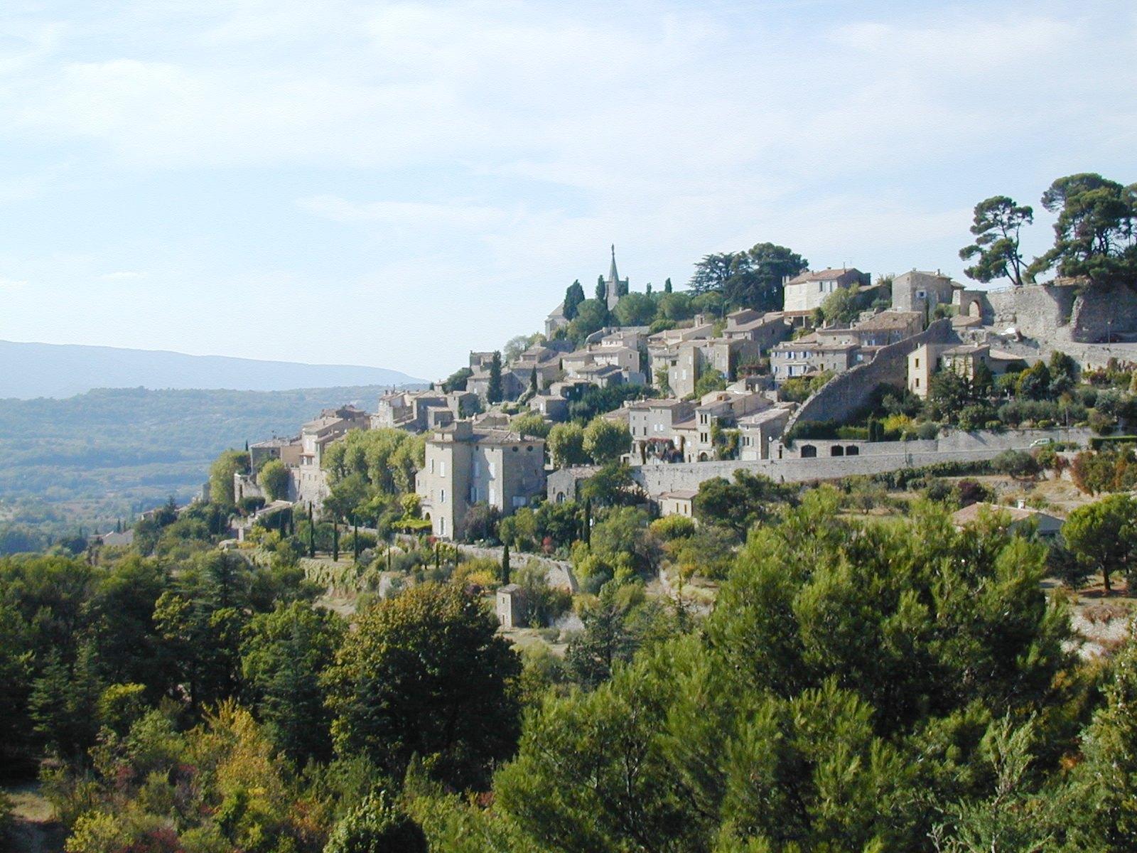 Le village perché de Bonnieux