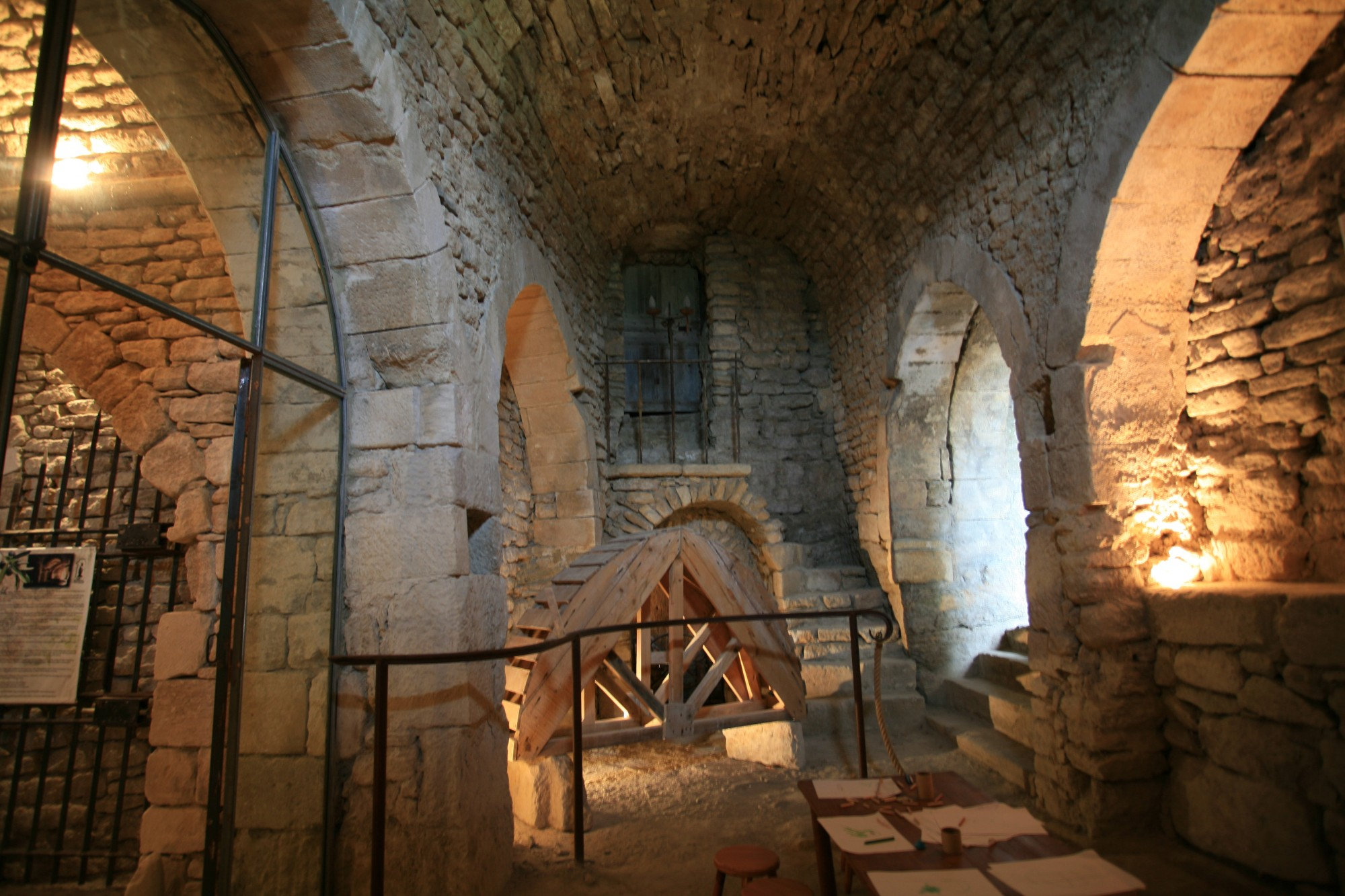 Les caves du palais saint firmin, en Luberon