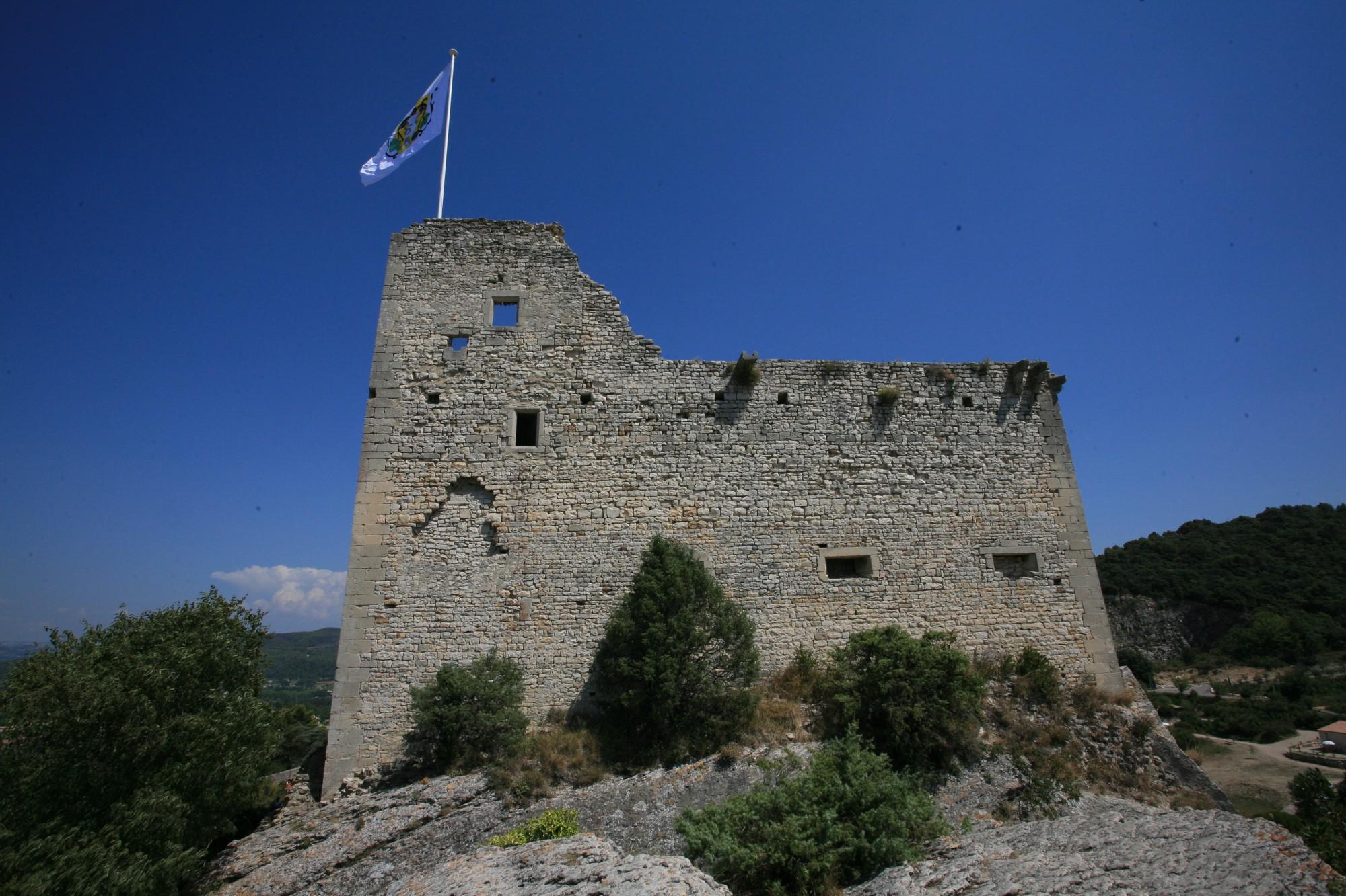 Le chateau de Vaison-la-Romaine