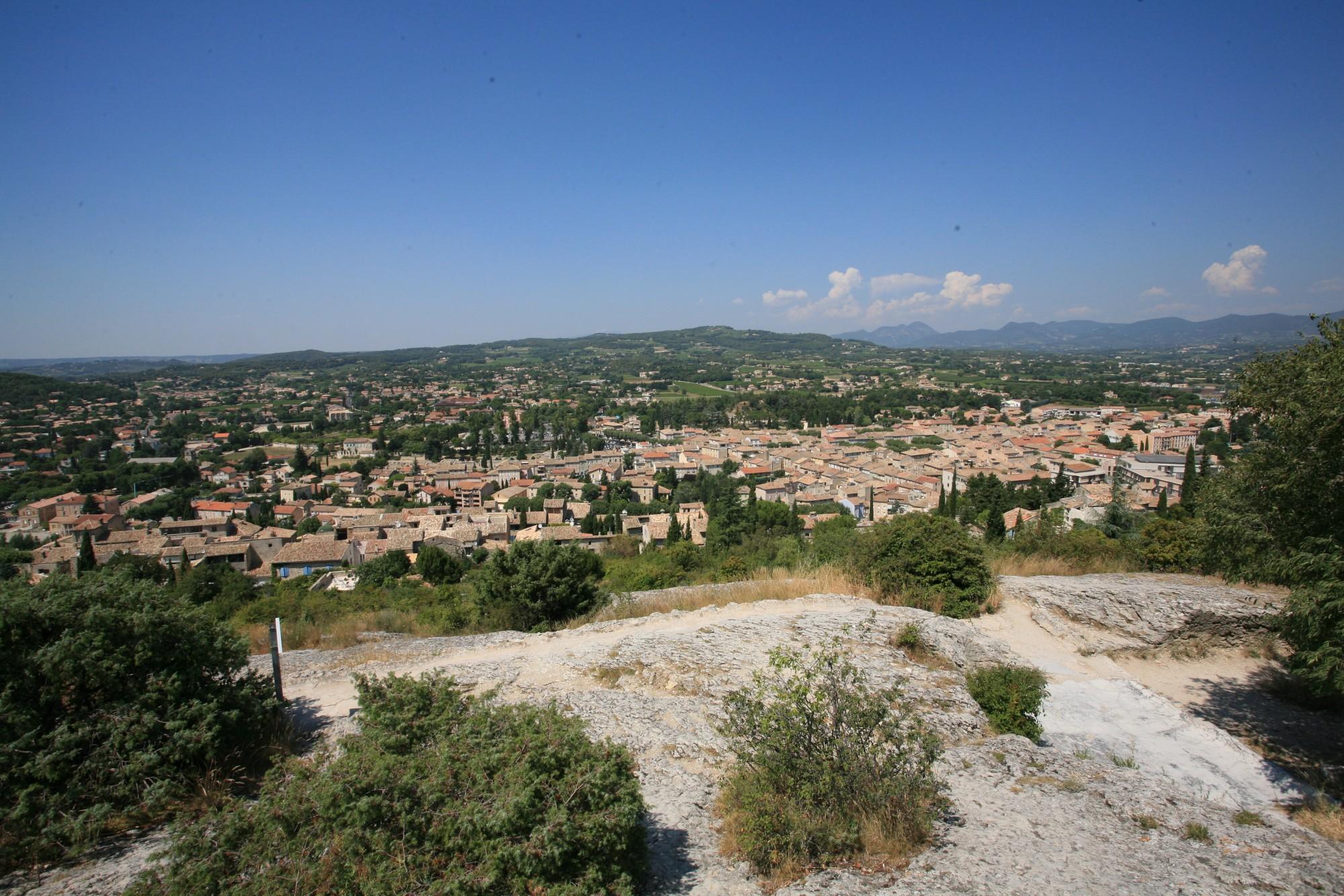 Vaison-la-Romaine vue du chateau