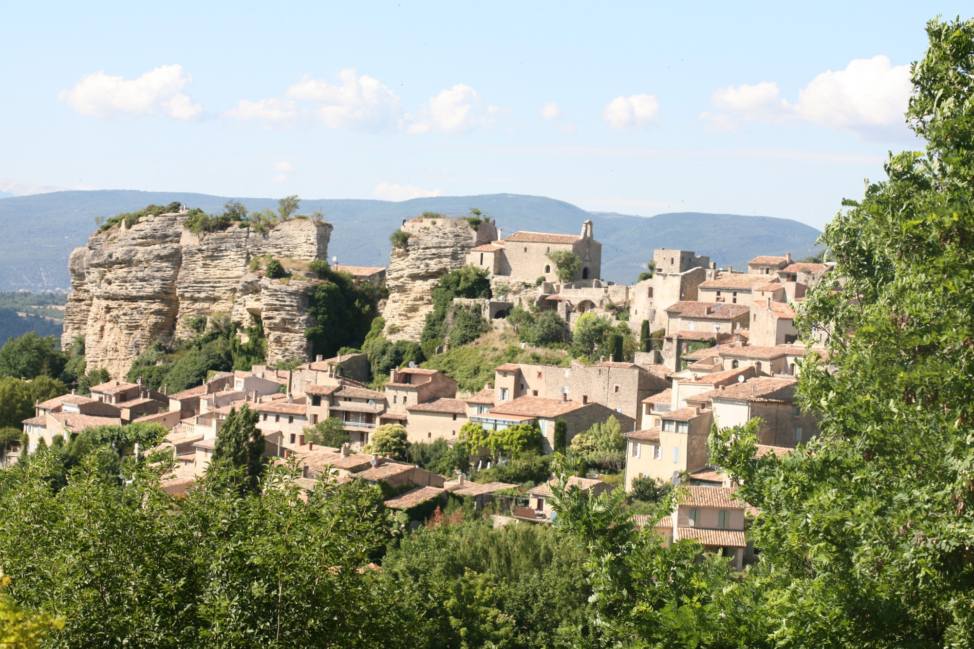 Le village médiéval de Saignon