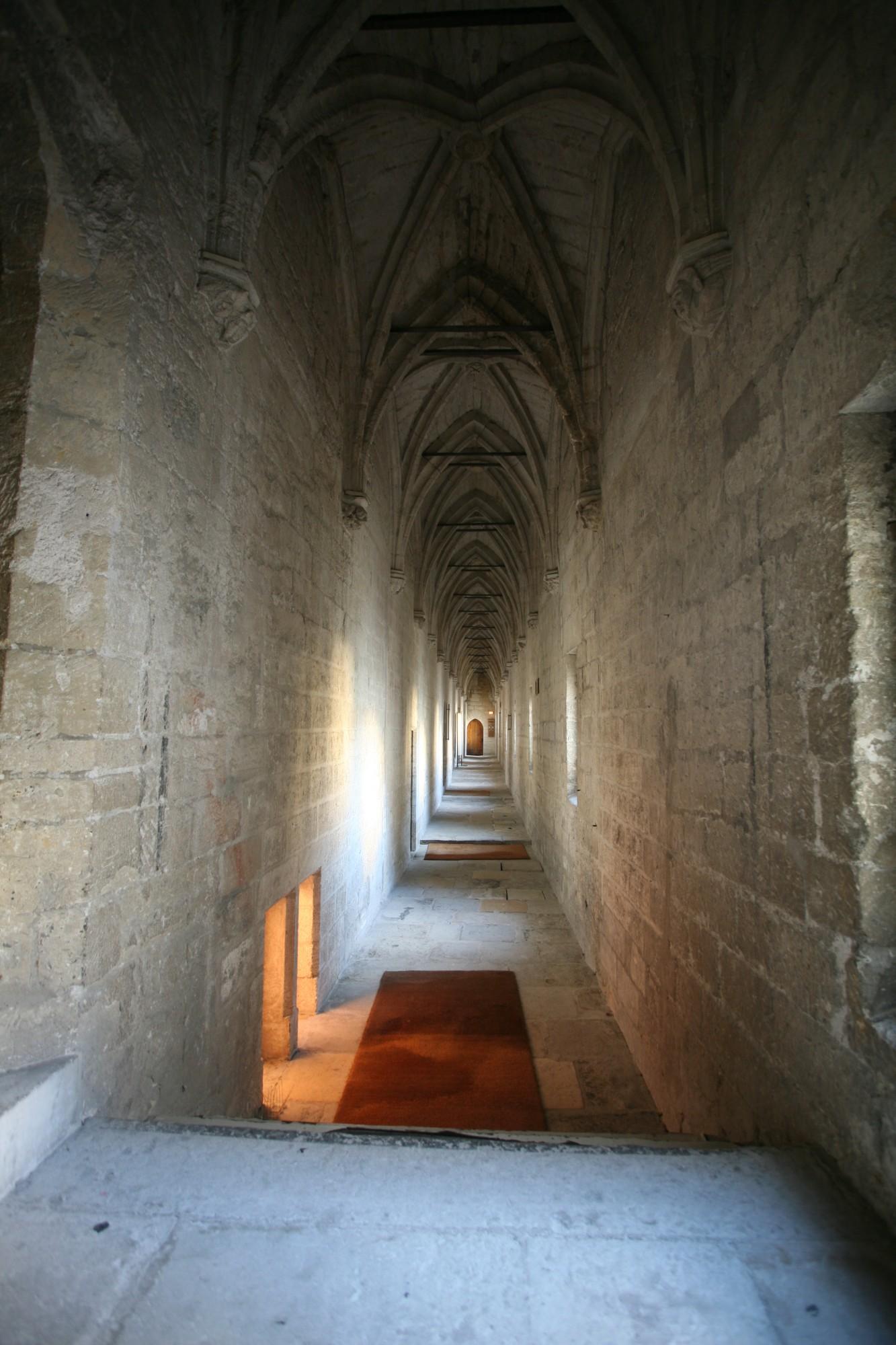 Le Palais des Papes, La galerie du conclave