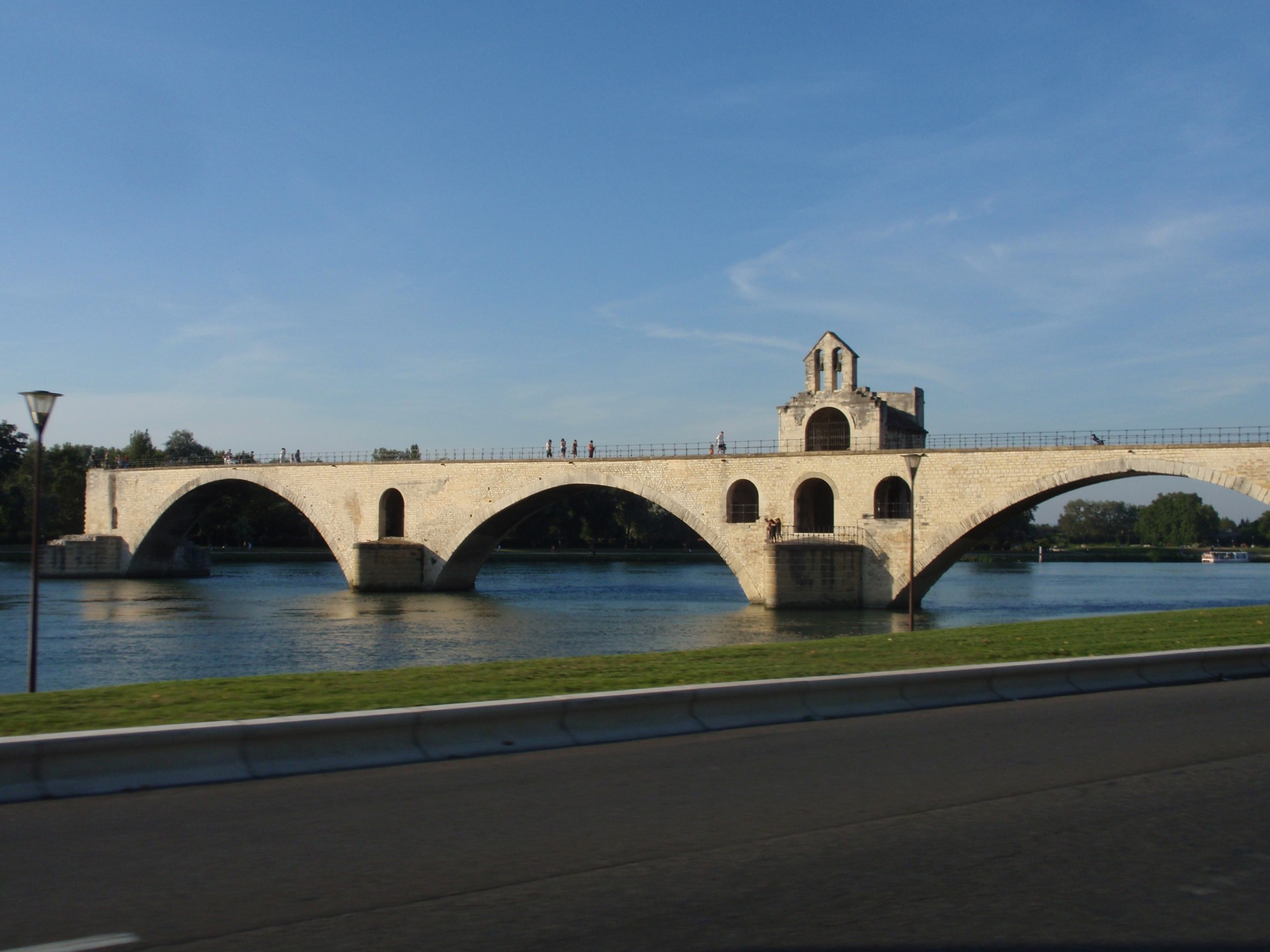 Saint Bénézet bridge, the legendary Pont d'Avignon