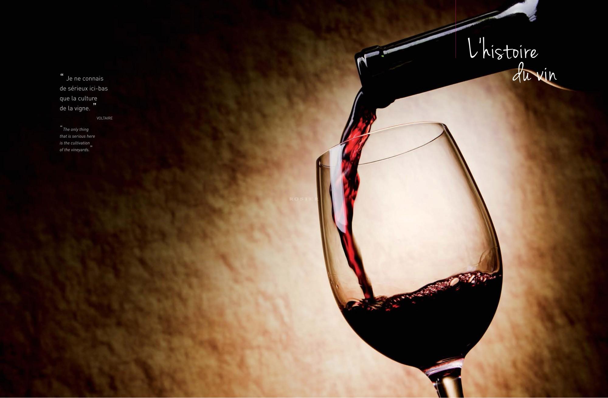 Vignes et vin, Lifestyle by Rosier 2012