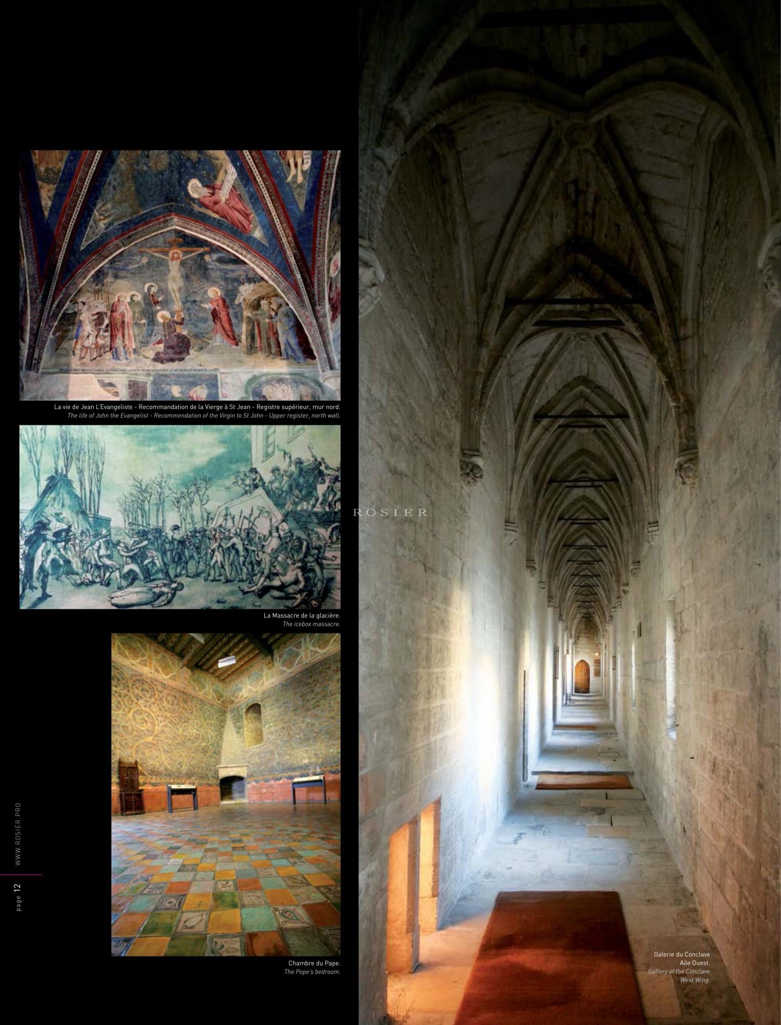 Palais des papes d'Avignon, Lifestyle by Rosier 2012
