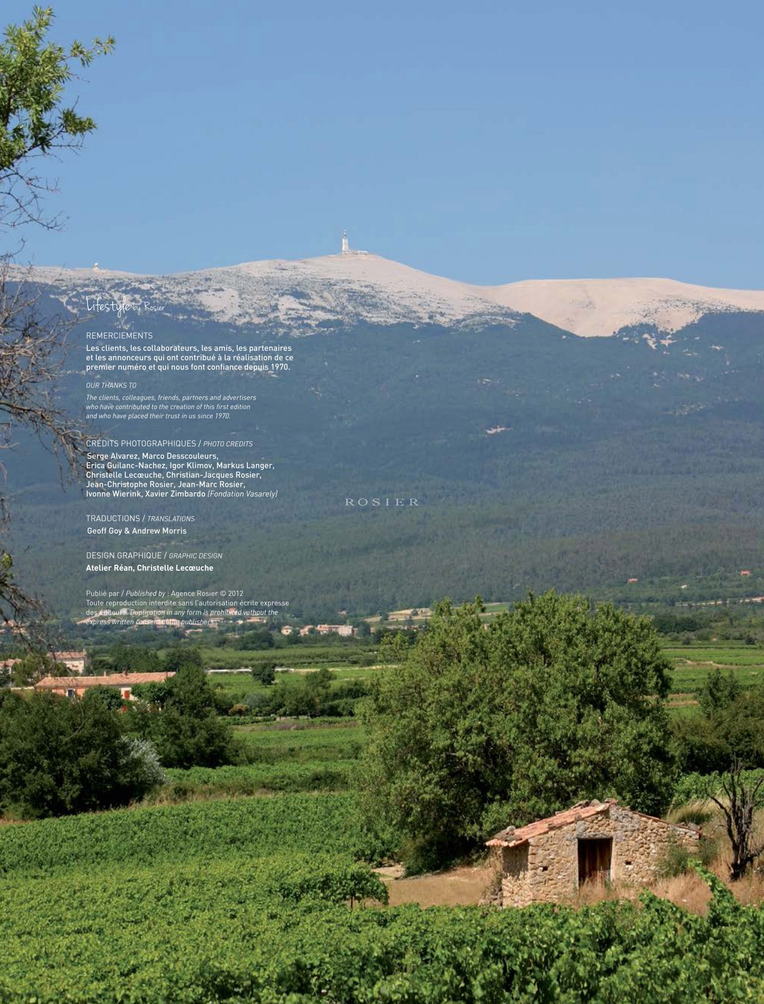Mont Ventoux, Lifestyle by Rosier 2012