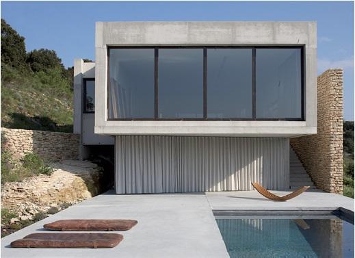 maison contemporaine a louer provence sud de la France