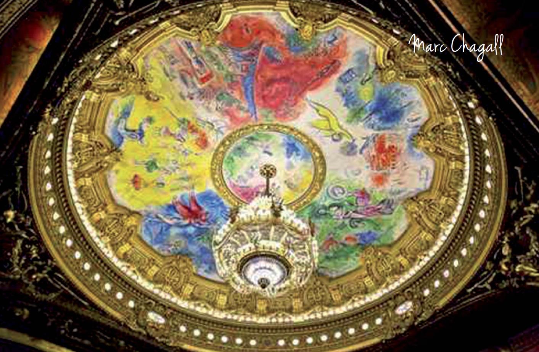 Marc Chagall peintre prestigieux a Gordes Luberon