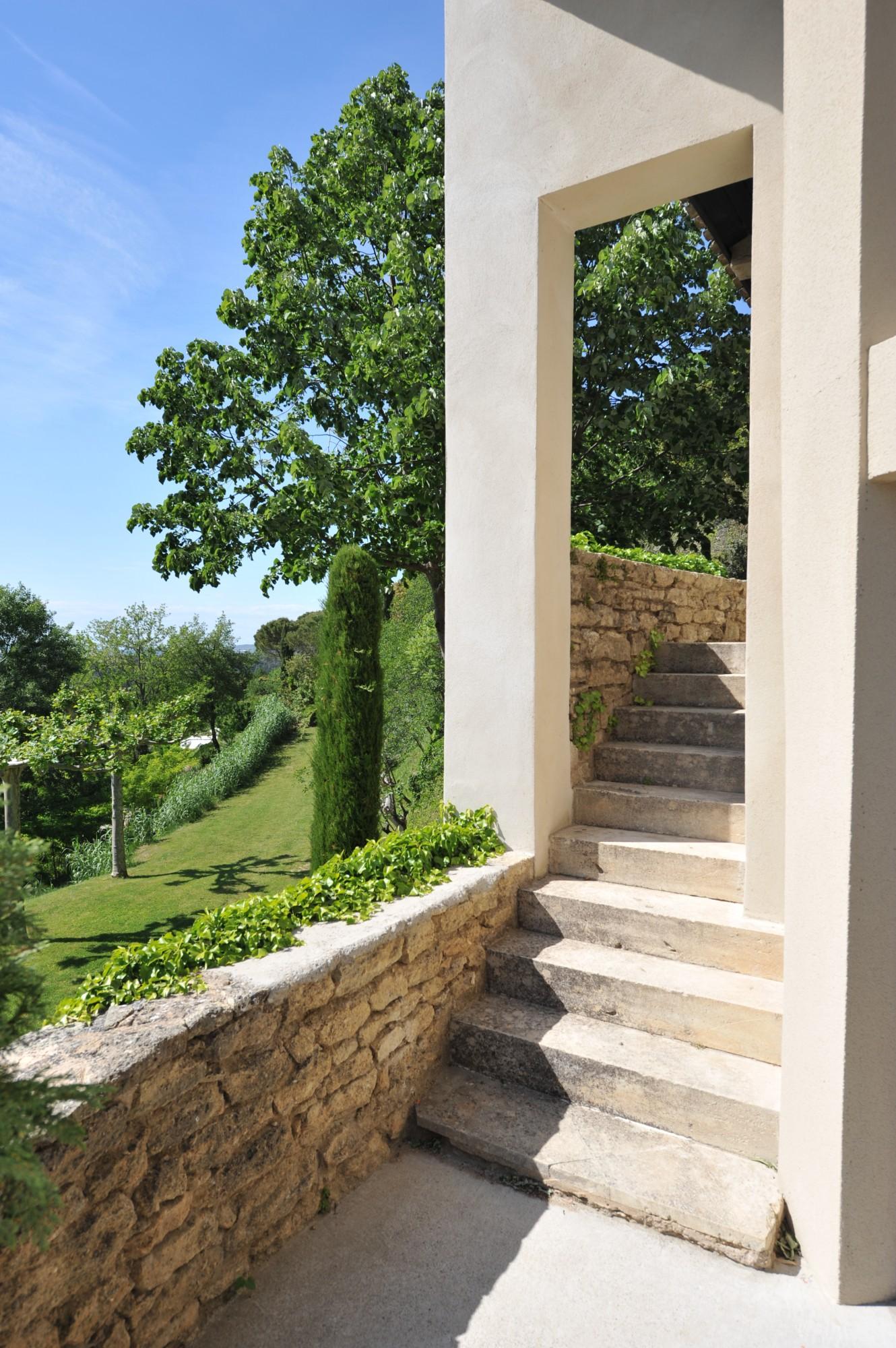 maison contemporaine de luxe en Provence