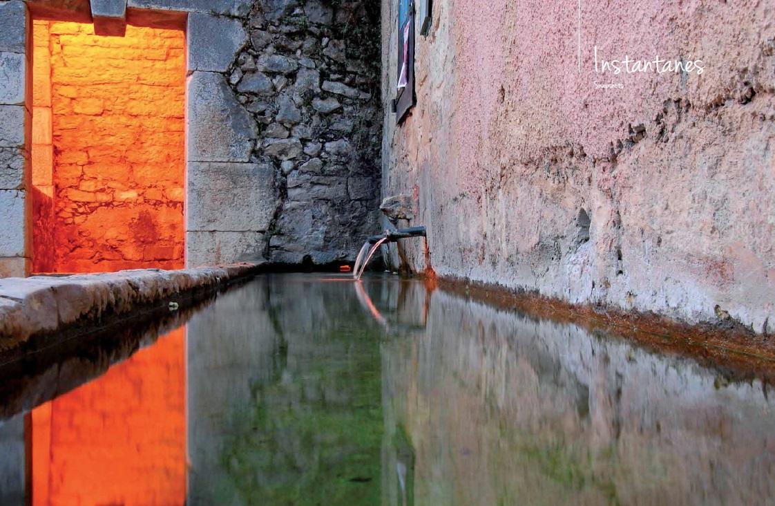Fontaines et bassins de village du Luberon Provence