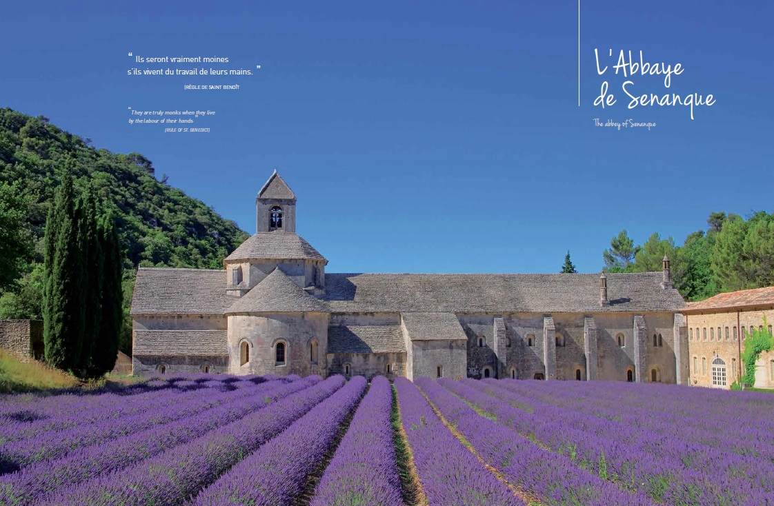 Abbaye de Senanque sud de la France Luberon Provence