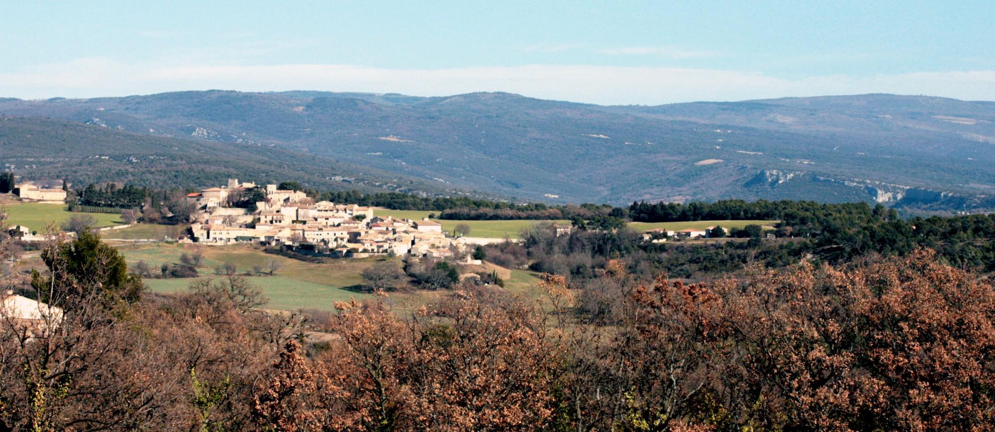 Le village médiéval de Murs