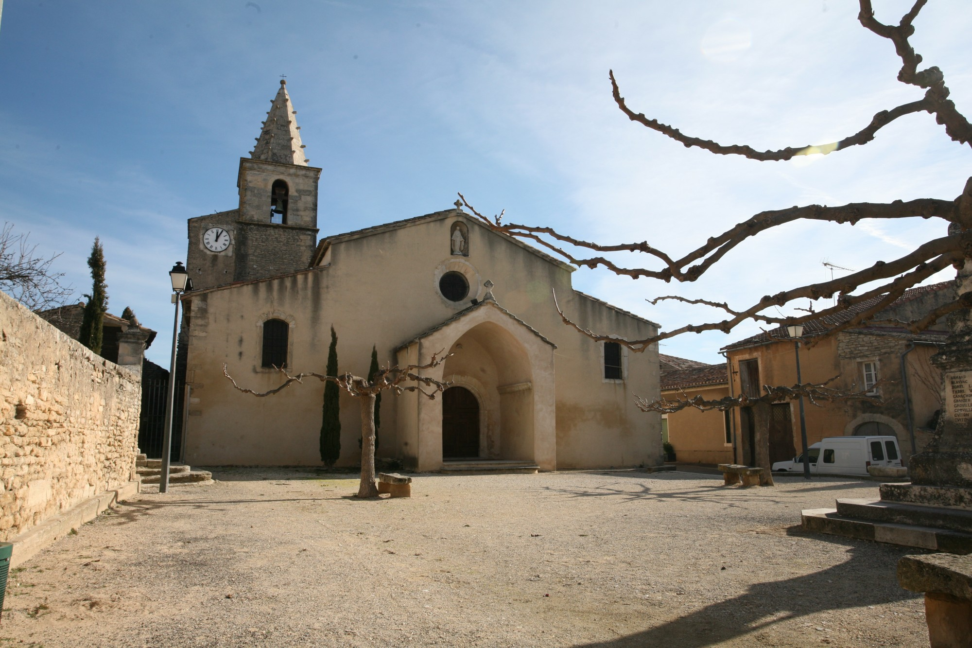 Eglise de Cabrières-d'Avignon