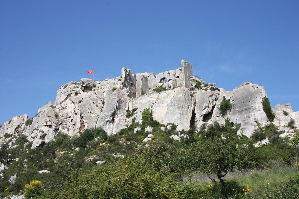 Le CHATEAU des BAUX-DE-PROVENCE