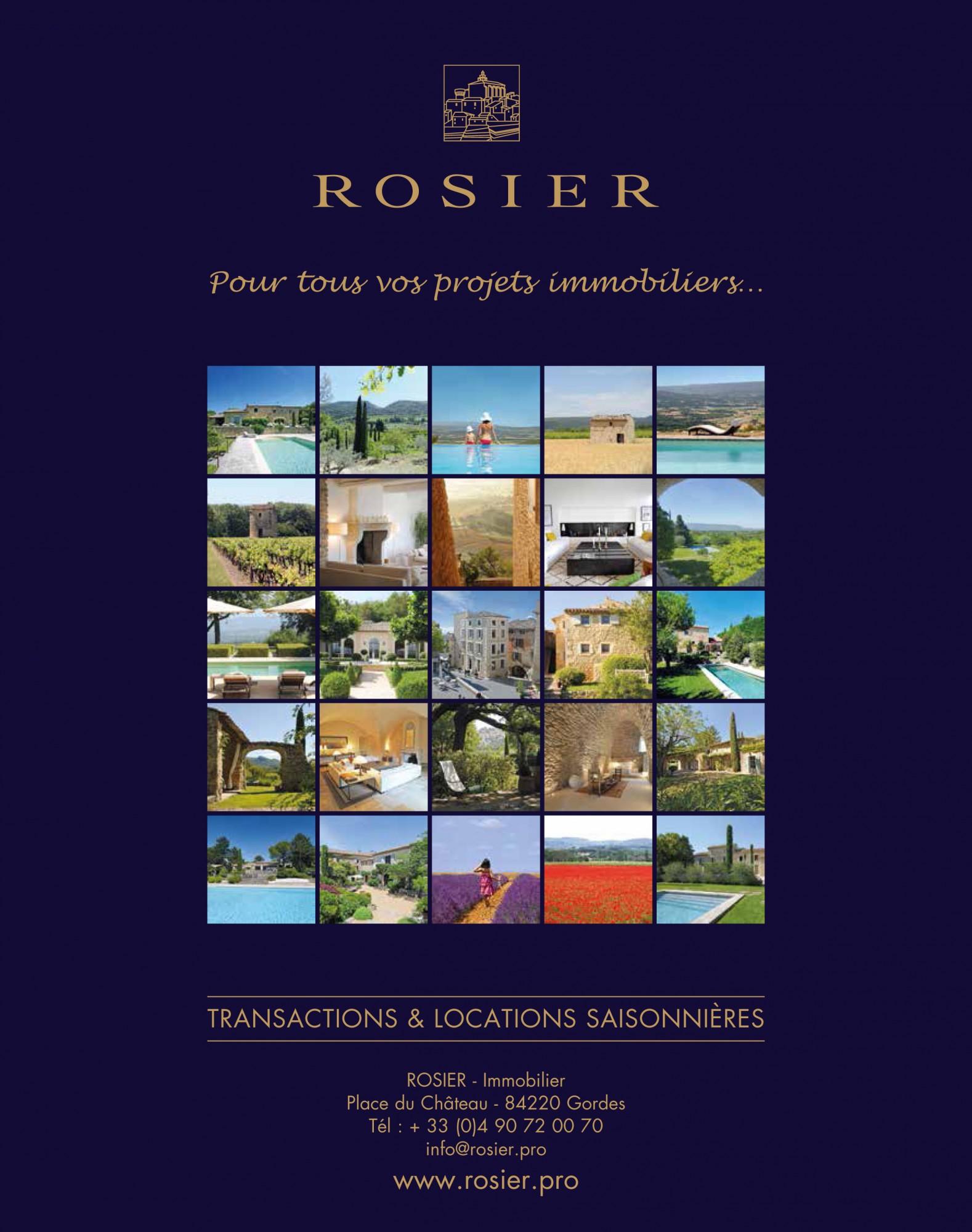 Presse de luxe cote sud un vrai lifestyle agence rosier for Agences immobilieres de prestige