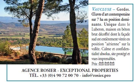Publicité immobilier Figaro magazine