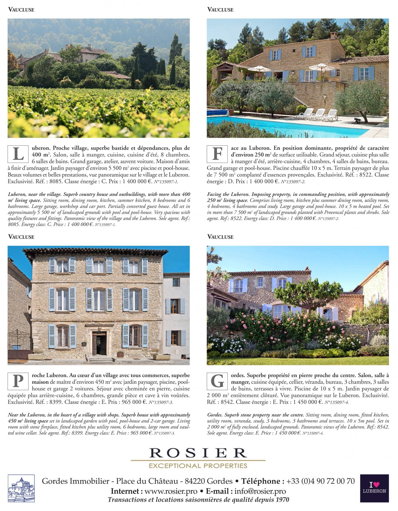 C Maison Et Jardin Magazine realty magazine: proprietes de france - rosier