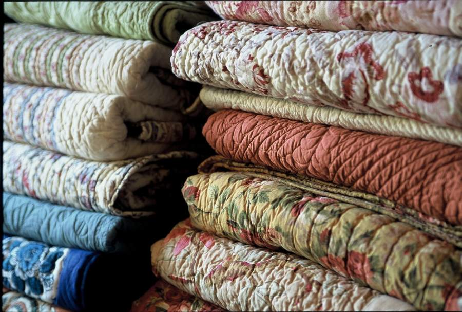 The fabrics in provence rosier Maison de provence decoration