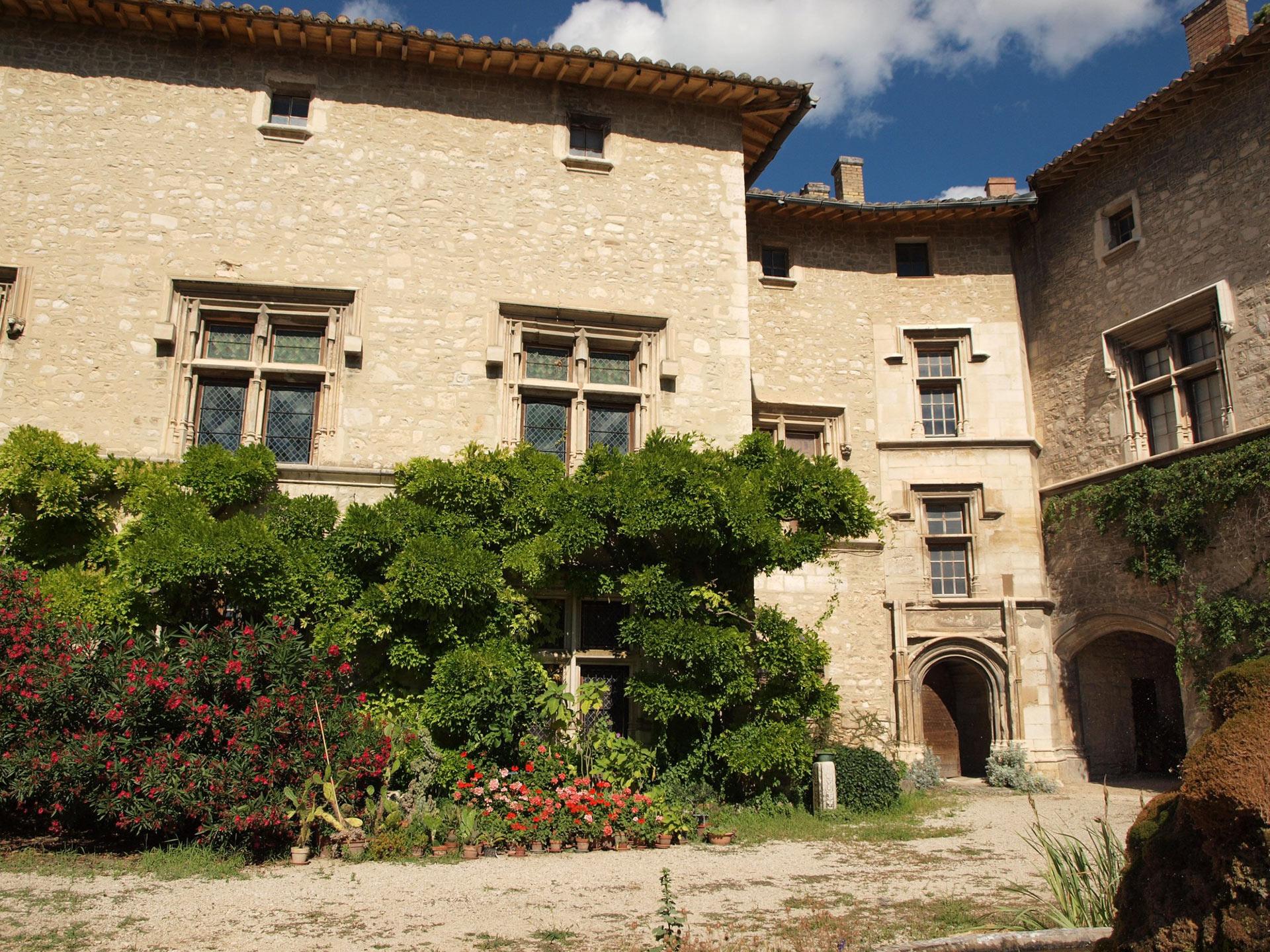 Façade du chateau Renaissance