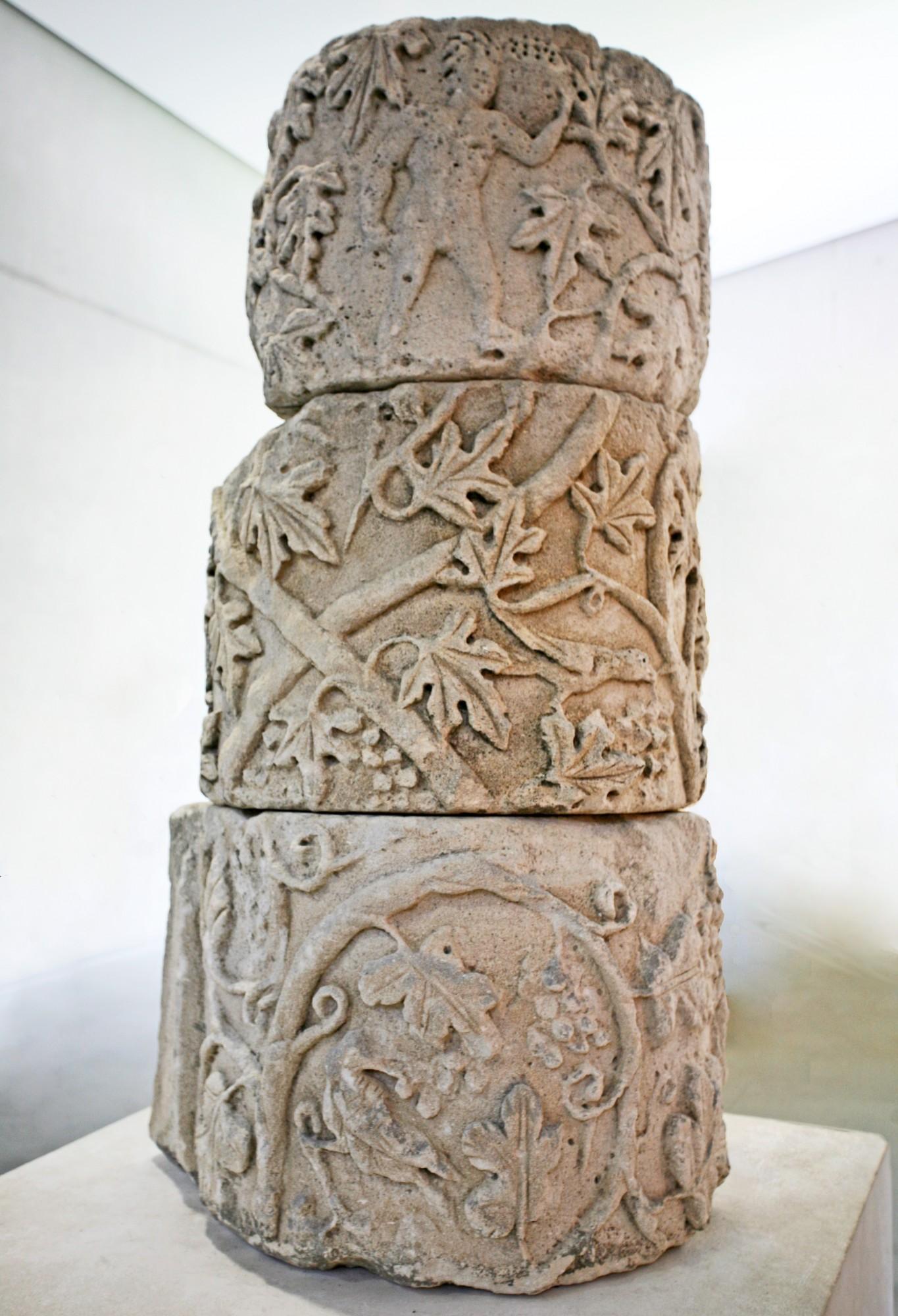 Les amours vendangeurs, musée d'Arles