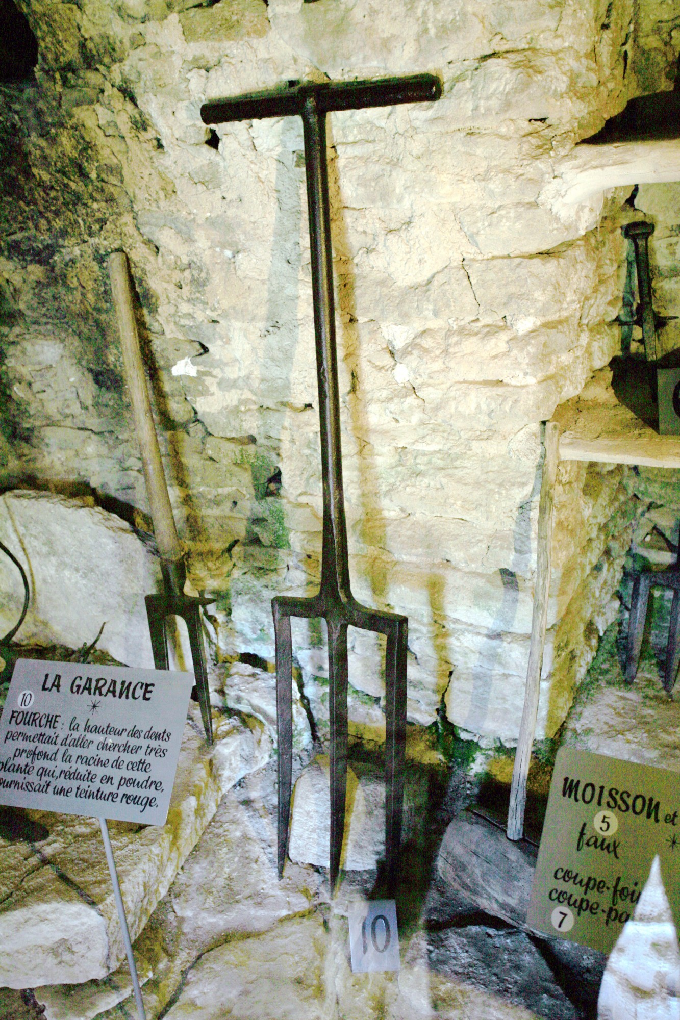Fourche de Garance, Village de Bories de Gordes