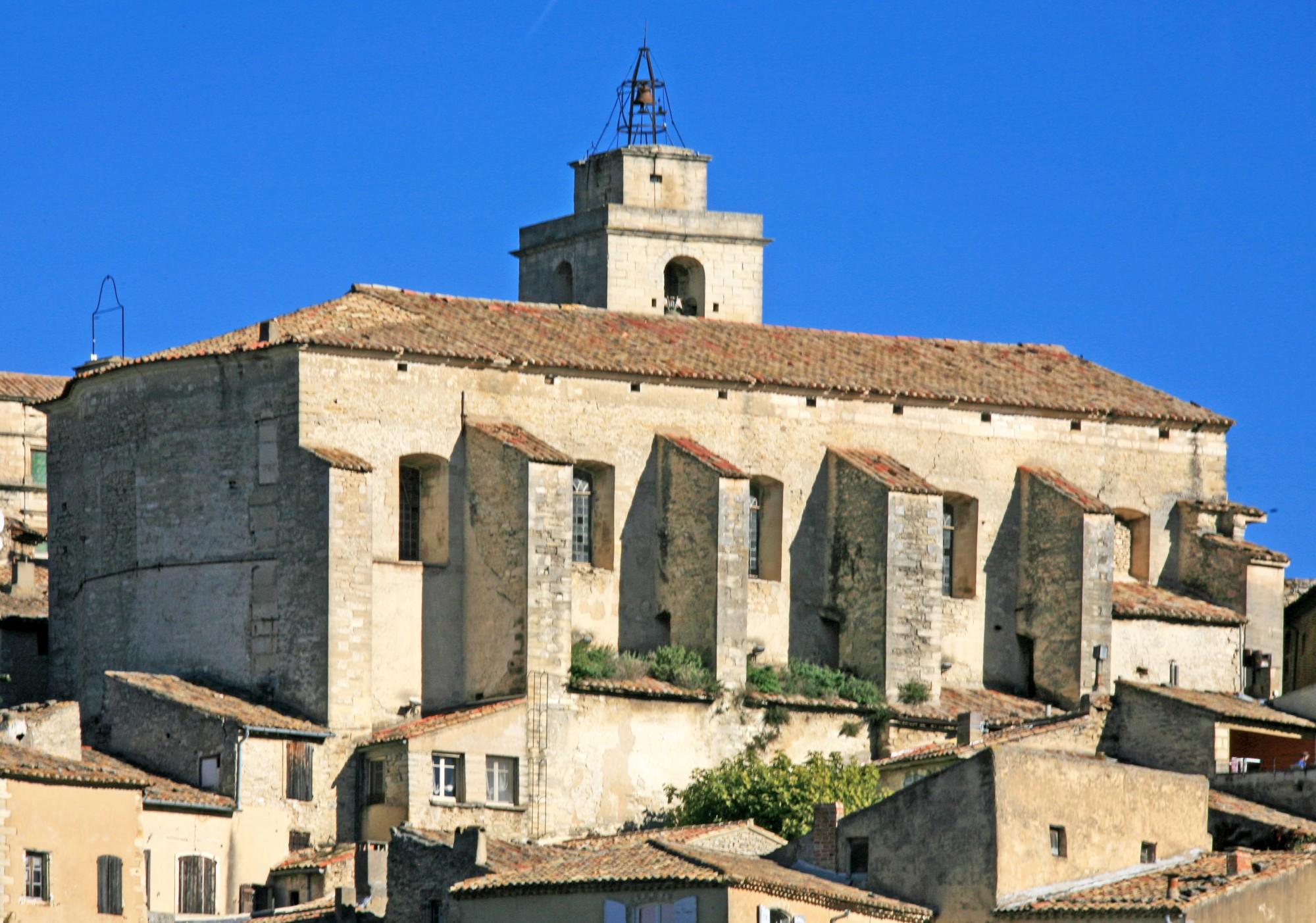L'église de Gordes en Luberon