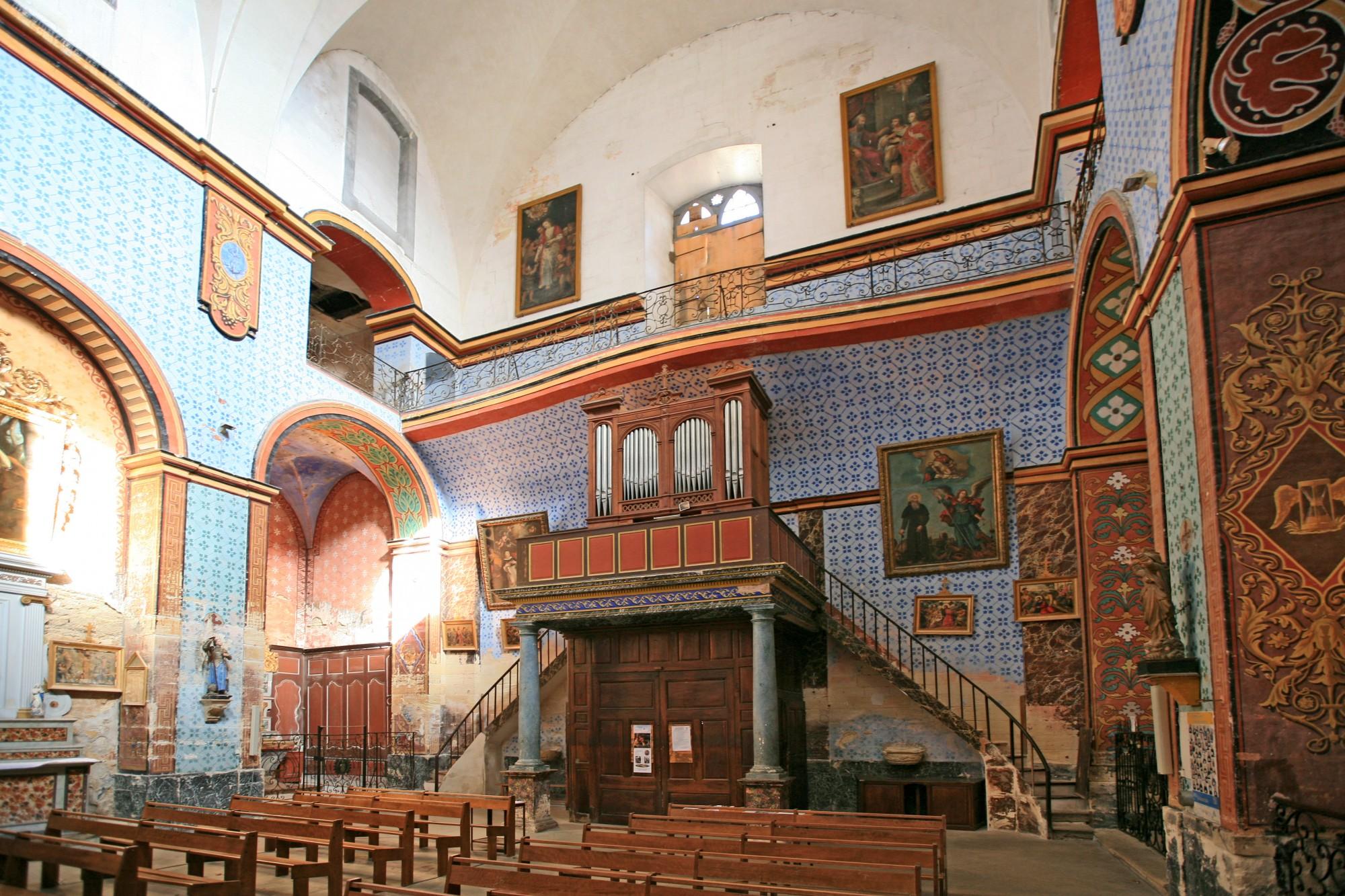 Orgue de l'église de Gordes, Luberon
