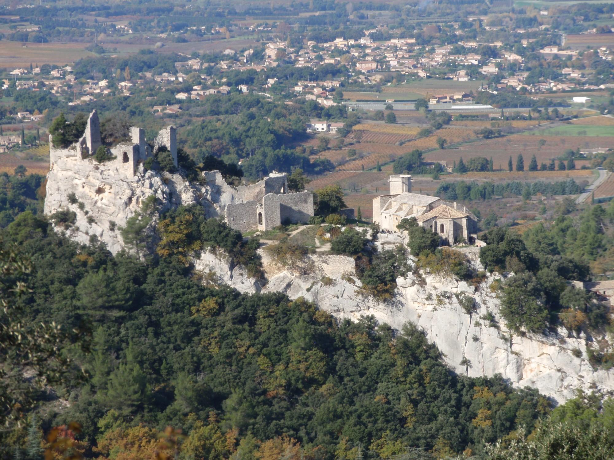 Le chateau d'Oppède-le-Vieux