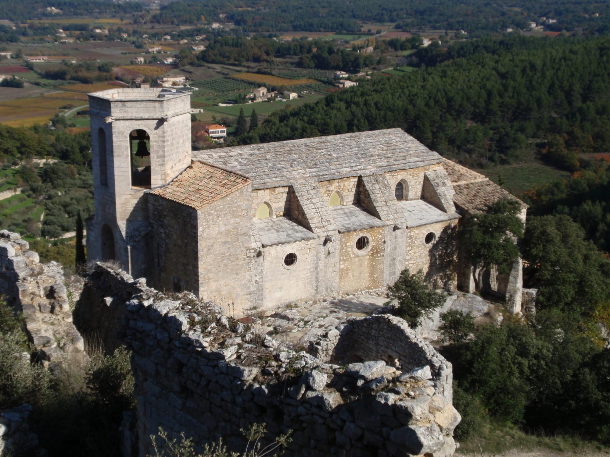 La Collégiale Notre Dame Dalidon depuis le château