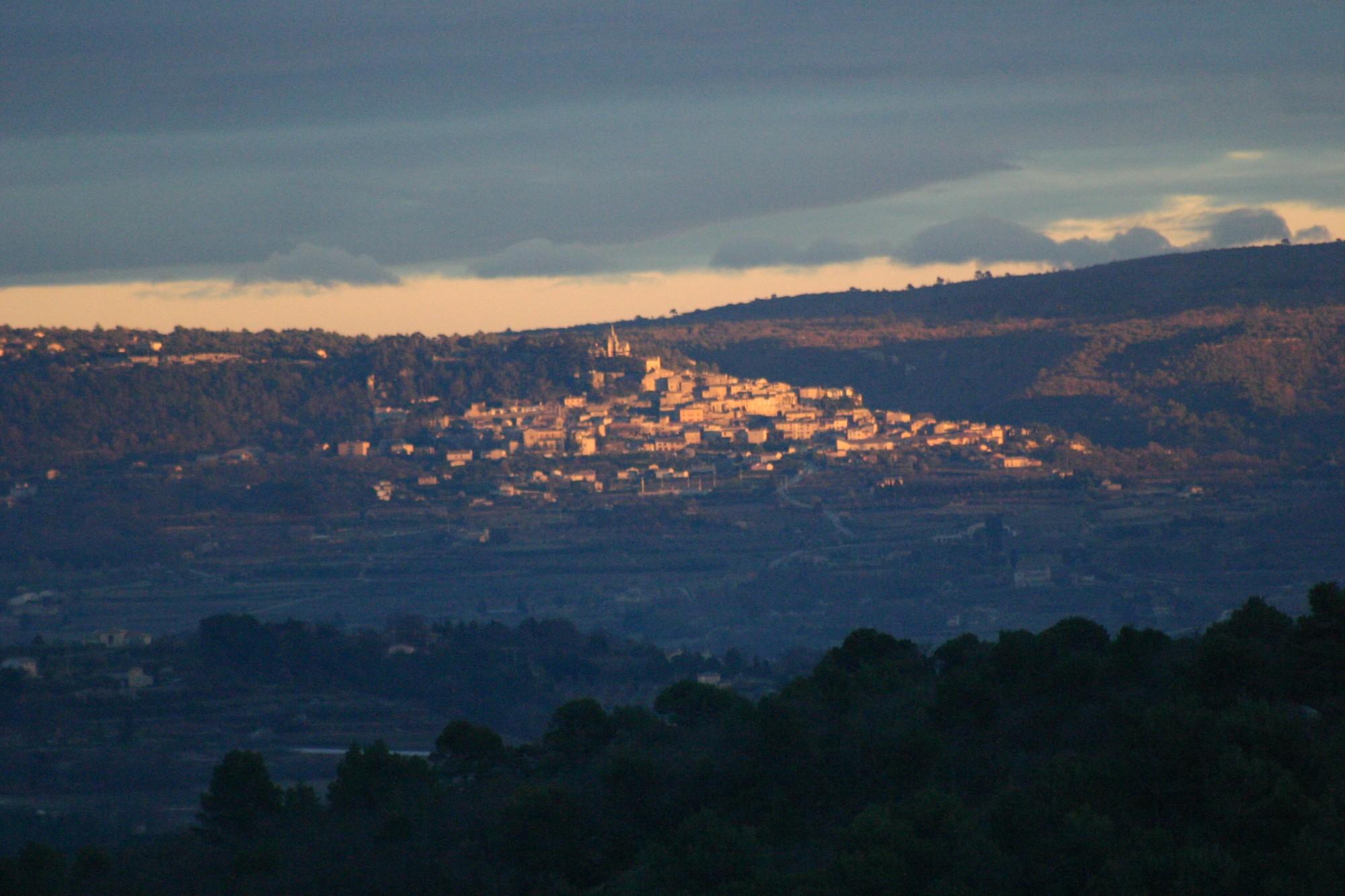 Bonnieux en Luberon, dans le triangle d'or du Luberon