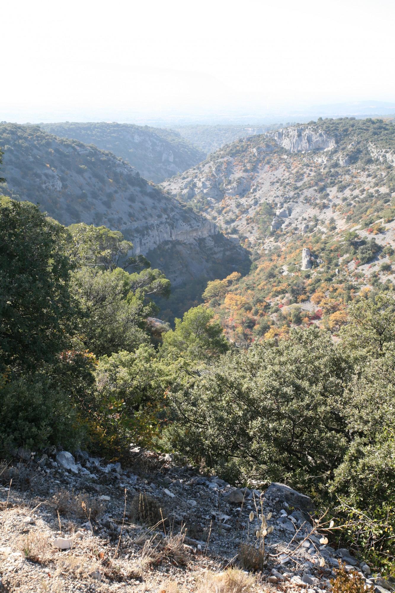 Détail de la géologie du massif du Luberon