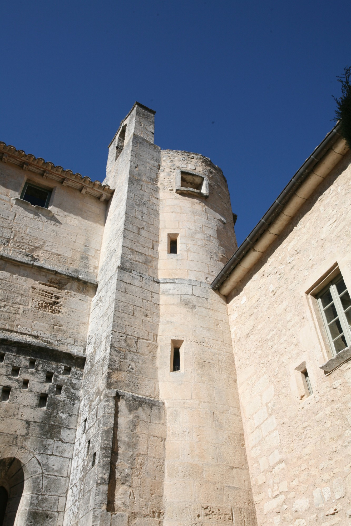 Tour de l'Abbaye Saint-Hilaire, Ménerbes, Vaucluse
