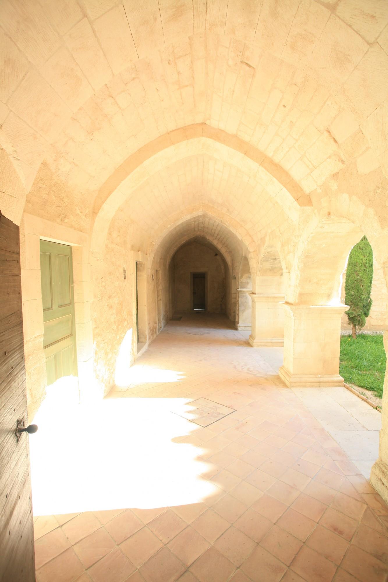 Travée de l'Abbaye de Saint-Hilaire à Ménerbes