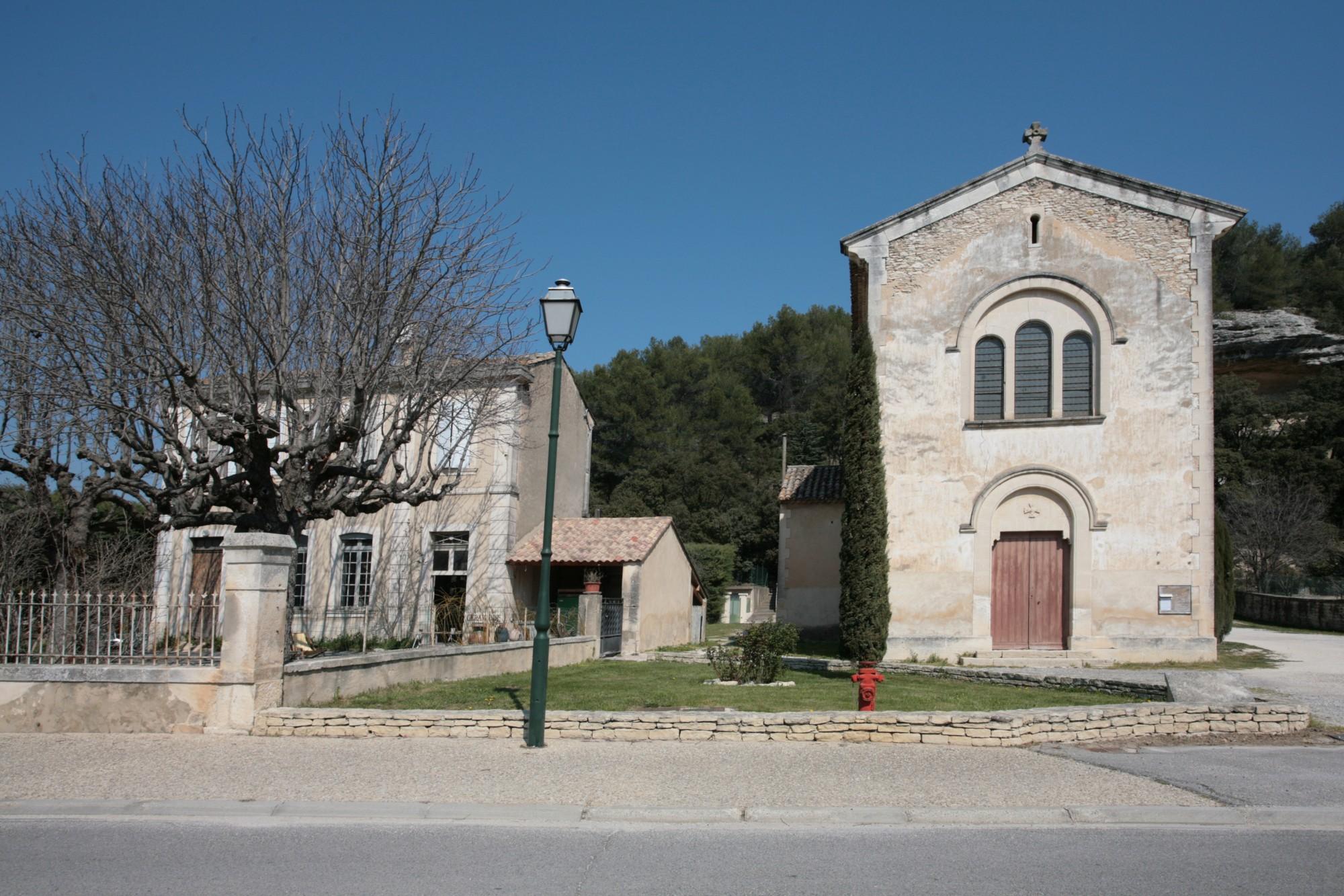 Eglise des Beaumettes, Vaucluse