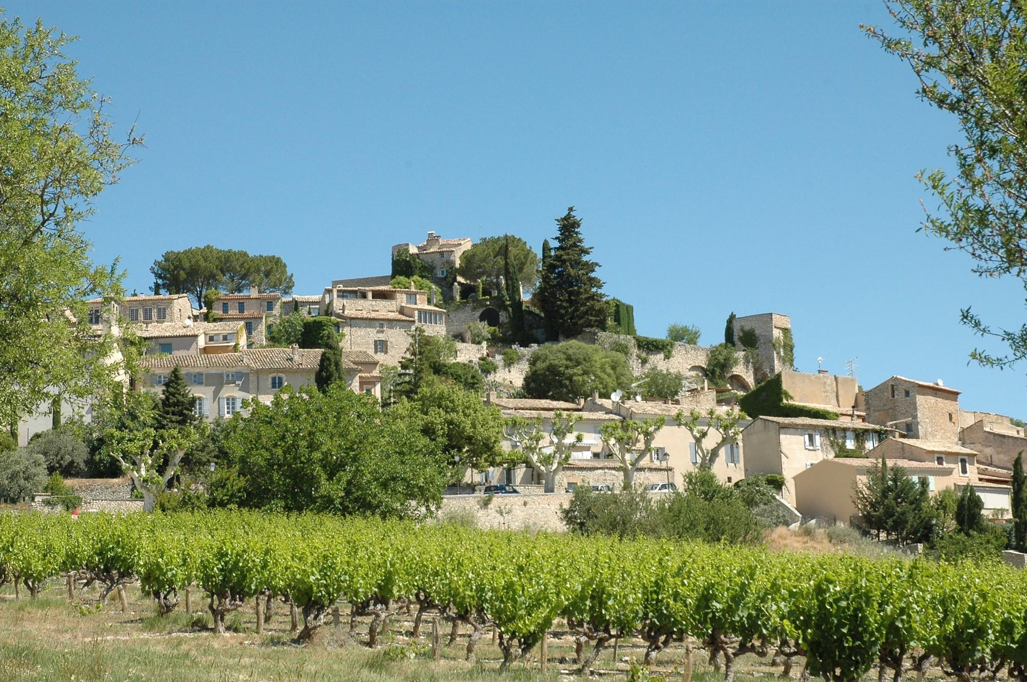 Le village de Joucas, Vaucluse