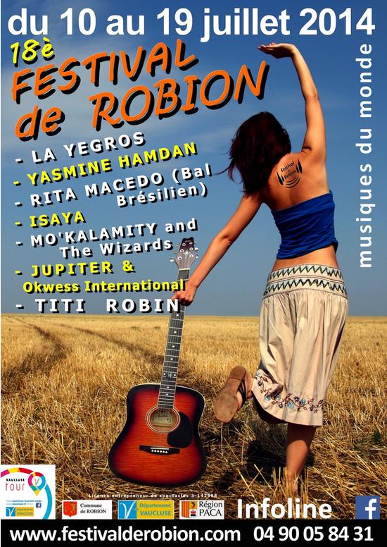 Festival des Musiques du Monde de Robion