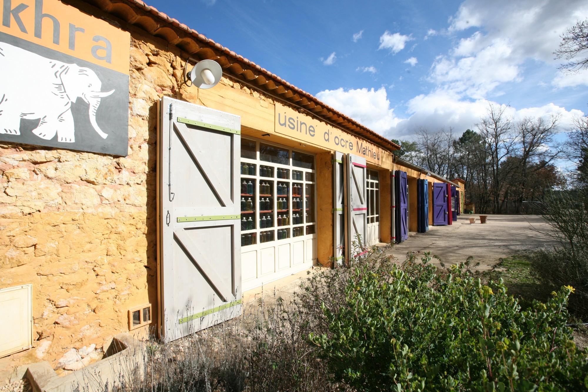 Le conservatoire des ocres et pigments appliqués de Roussillon