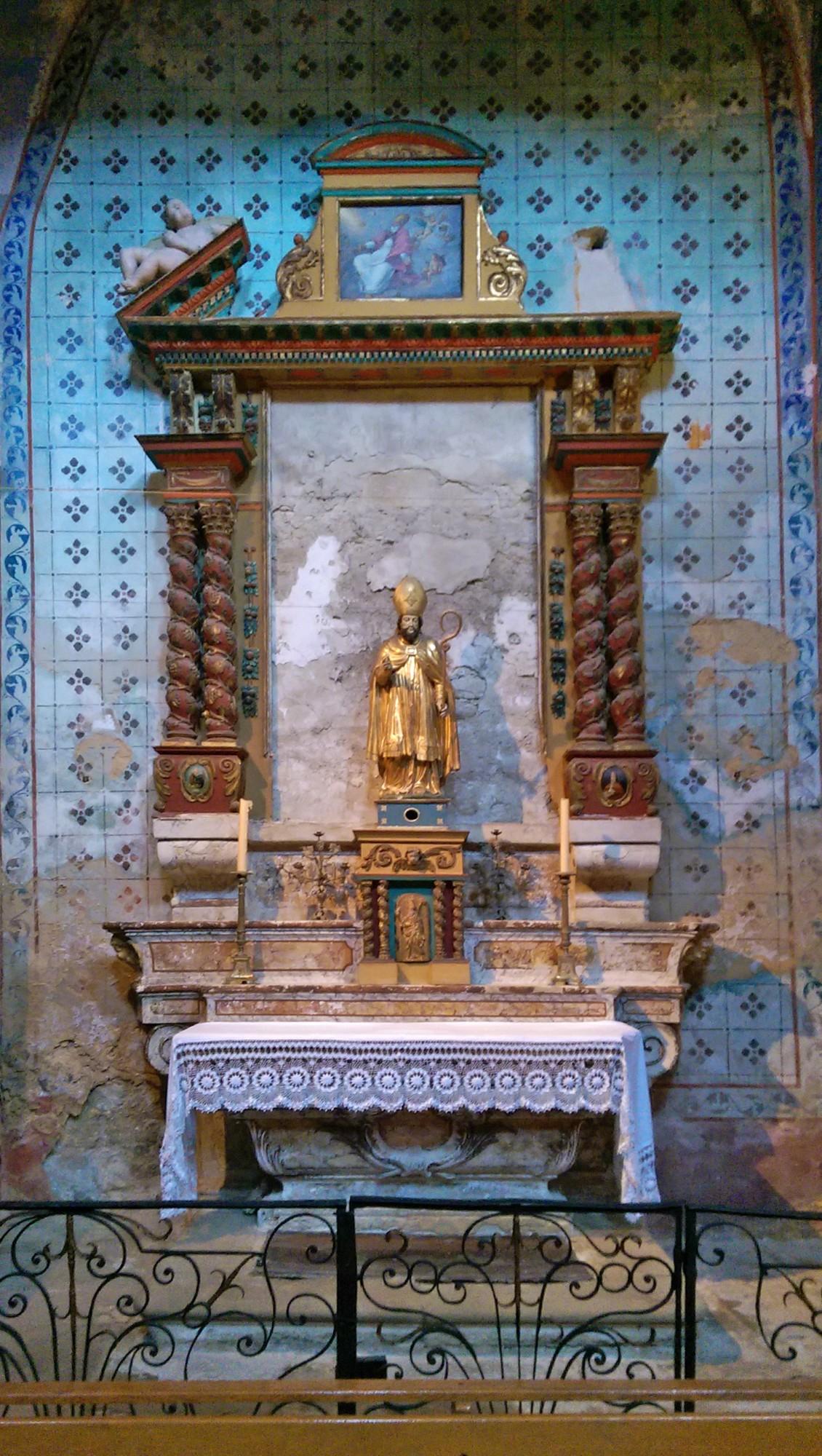 Chapelle saint Firmin, église de Gordes, Luberon