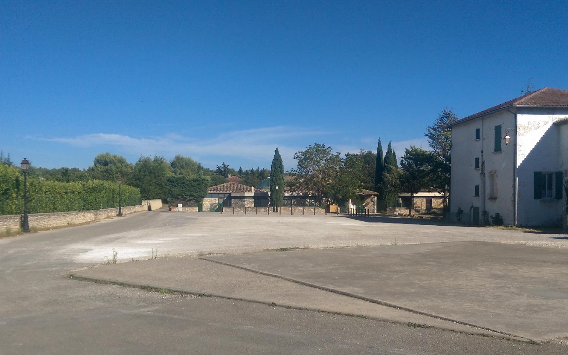 L'école des Imberts à Gordes