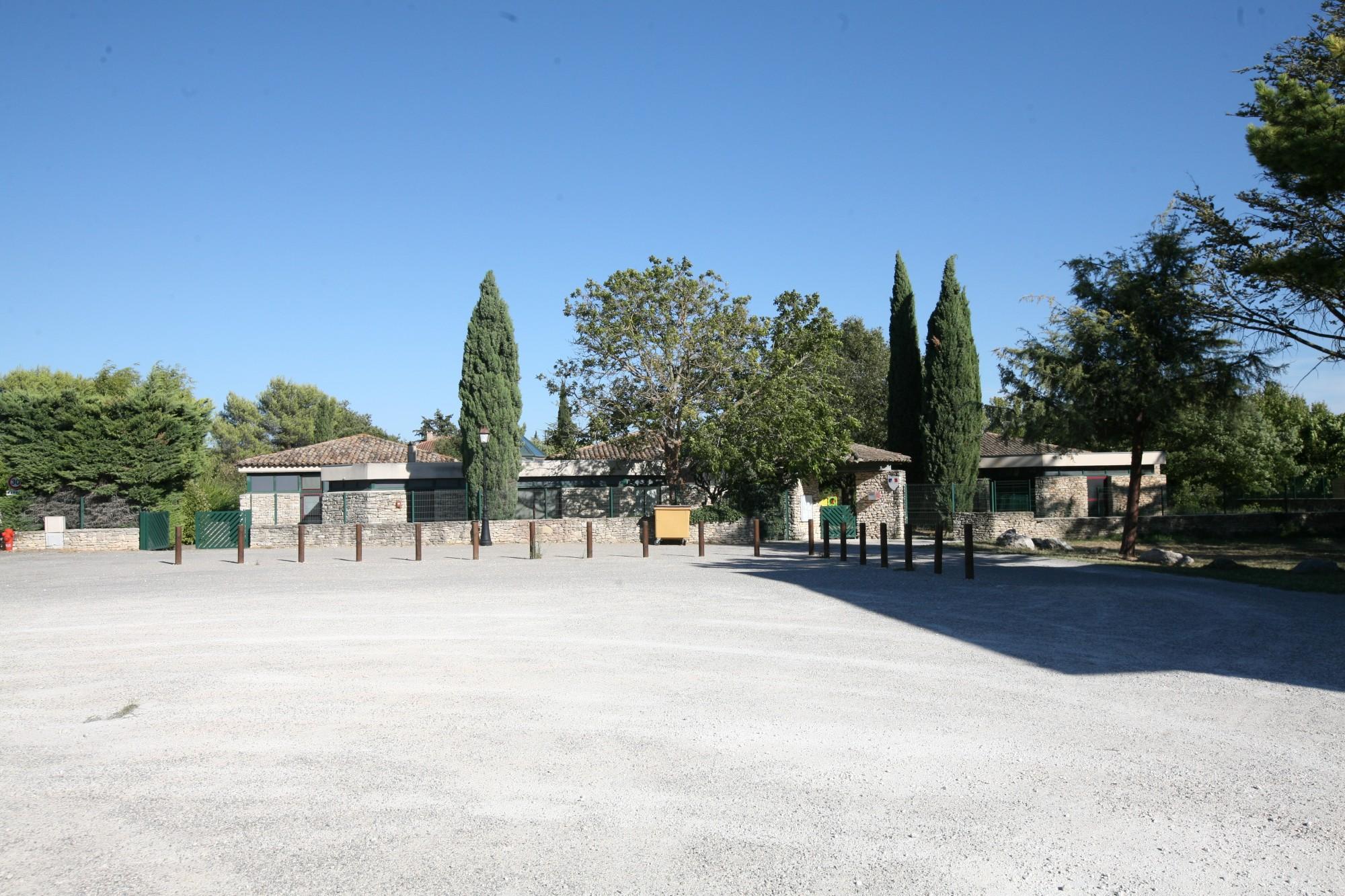 La maternelle de Gordes, au hameau des Imberts