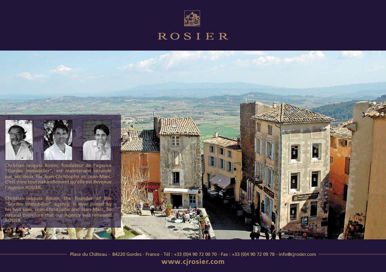 Agence rosier brochure commerciale agence rosier for Agences immobilieres de prestige